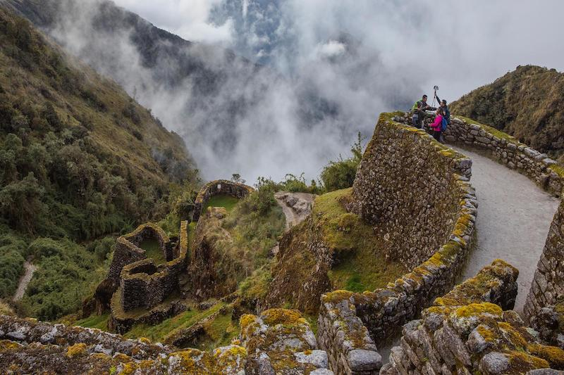 Phuyupatamarca - The Inca Trail