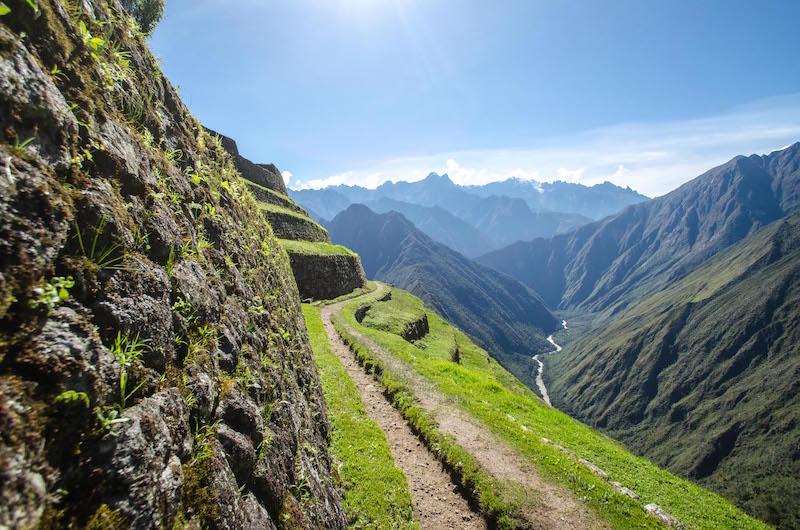 Llactapata Inca Trail, The Gringo trail South America, Inca Trail or Salkantay Trail