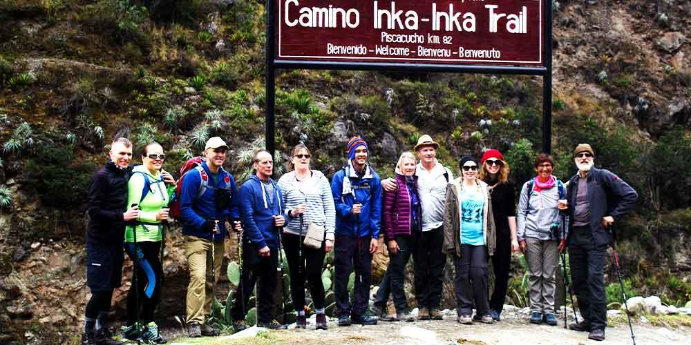 Inca Trail hikers