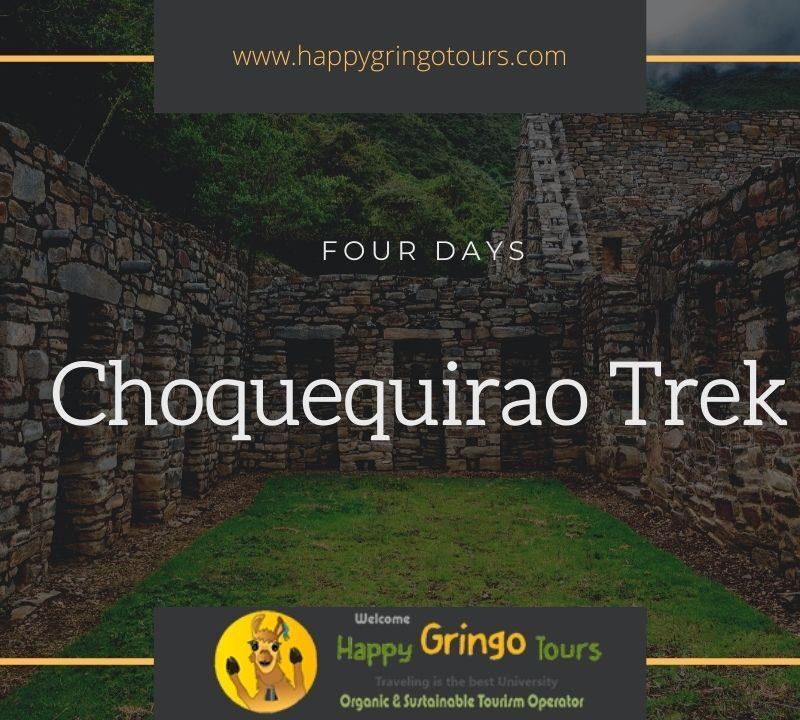 Choquequirao Trek 4 Days, Trek to Choquequirao