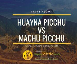 Huayna Picchu VS Machu Picchu Mountain