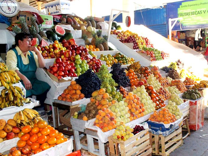 Let's Make Out About San Pedro Market Cusco