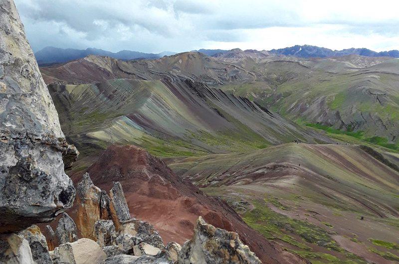 Rainbow Mountain vs. Palccoyo - Alternative Rainbow Mountain Peru