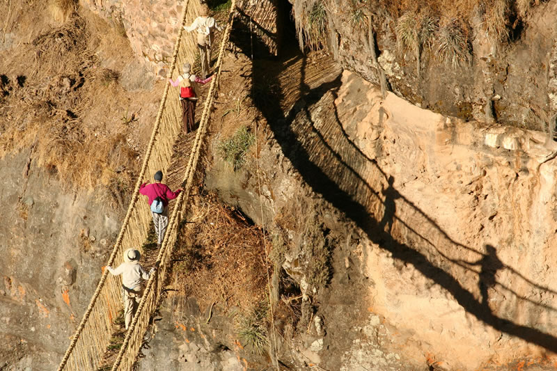 Q'eswachaka Rope Bridge Tour - Qeswachaka Inca Bridge
